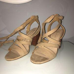 Brand New Strappy Heel Sandals size 9